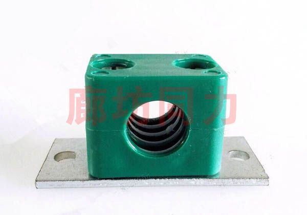 轻型开槽螺栓长焊接底板塑料管夹