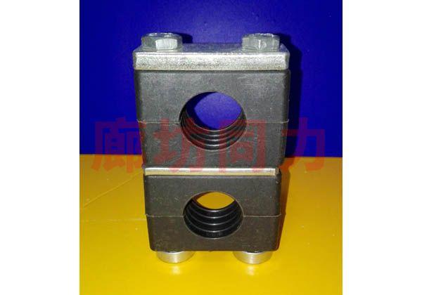 重型导轨管夹