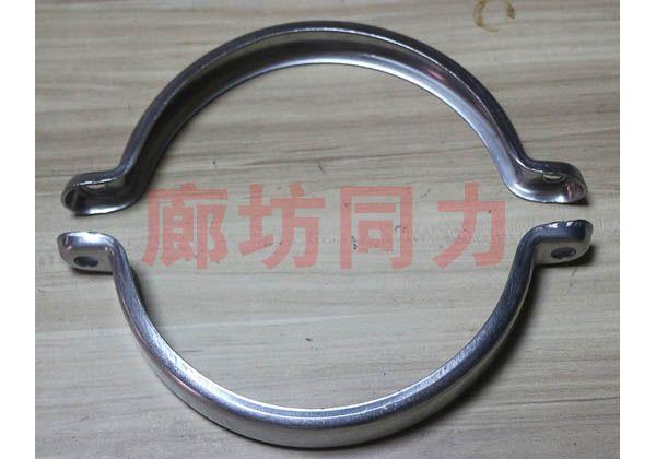 定制扁钢管夹1