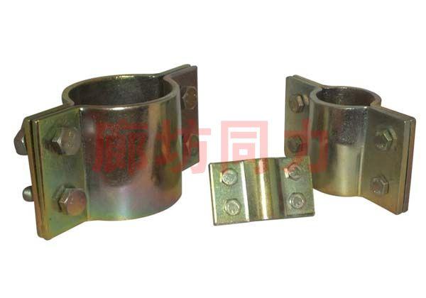 双排螺栓管夹