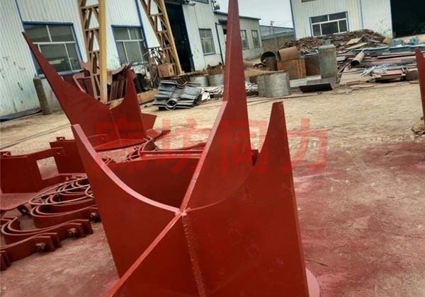 弯头焊接单双向限位支座