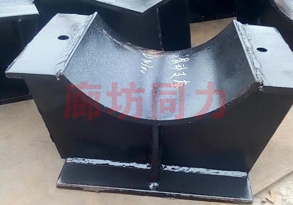 水平管道固定支架支座