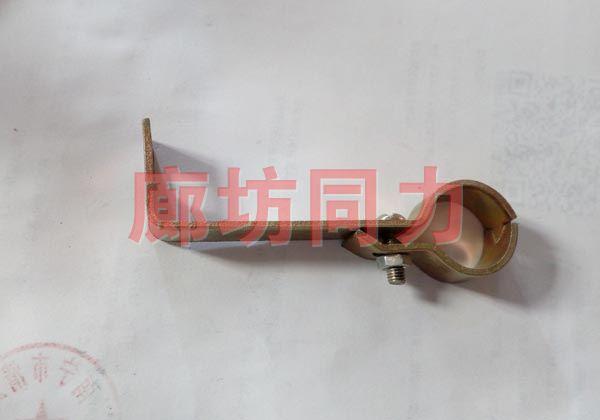 单管水平支架
