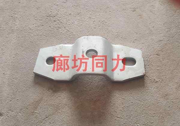 扁钢管夹2