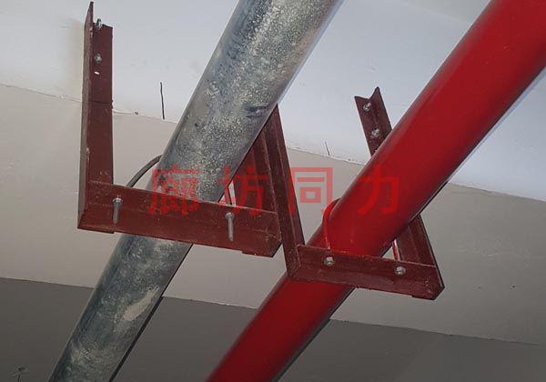 水平圆形管道连环吊架