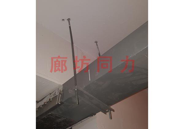 水平矩形管道吊架
